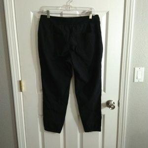 Athleta black pants size 12P